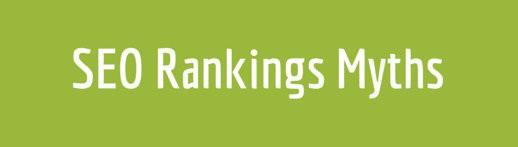 SEO Rankings Myths