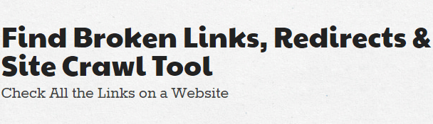find-broken-links-redirects-site-crawl-tool