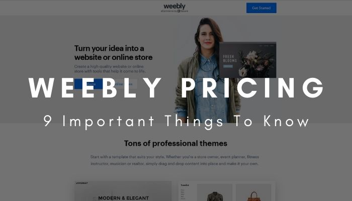 Weebly Pricing  9 Important Things To Know