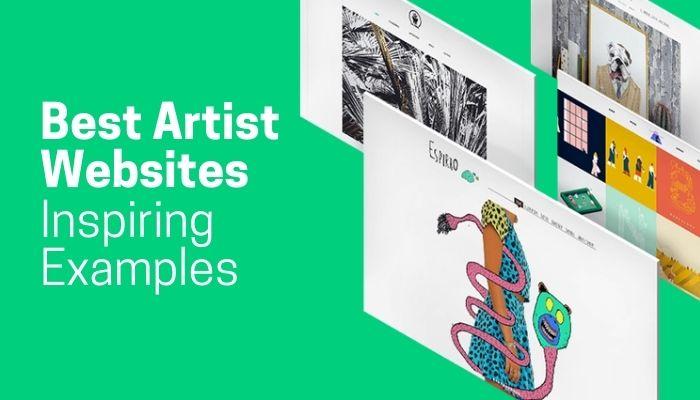 Best Artist Websites of 2021 | 29 Inspiring Examples
