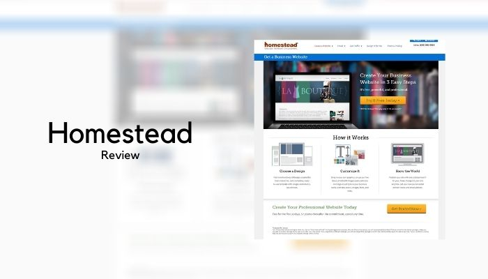 Homestead Website Builder Review – Is it any good?