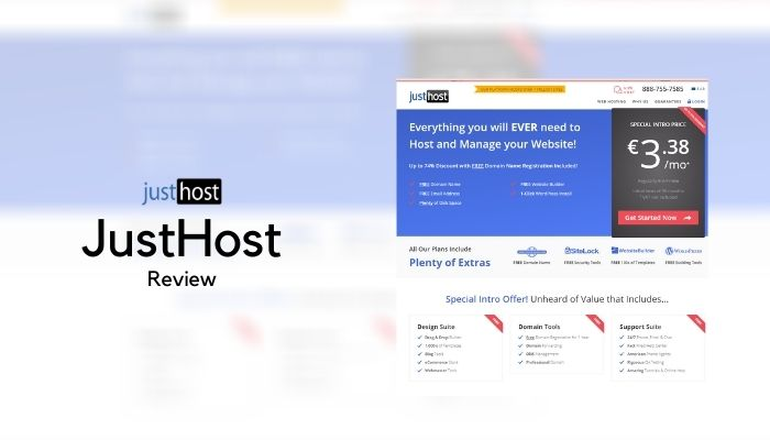 JustHost Web Hosting Review 2021