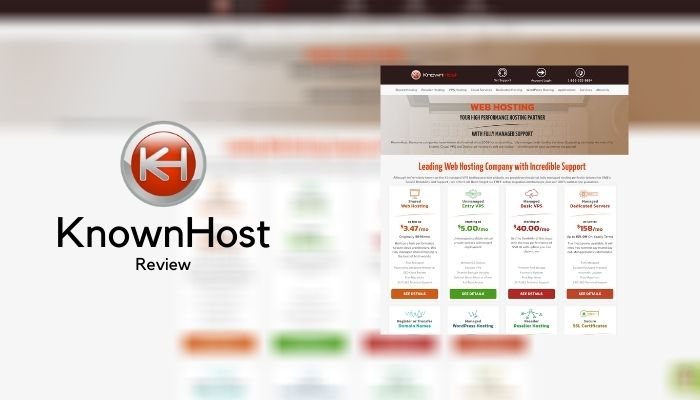 KnownHost Reviews 2021: Details, Pricing, & Features
