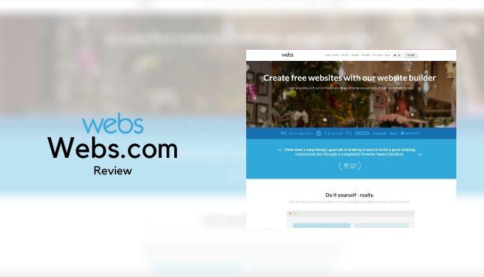Webs.com Website Builder Review 2021