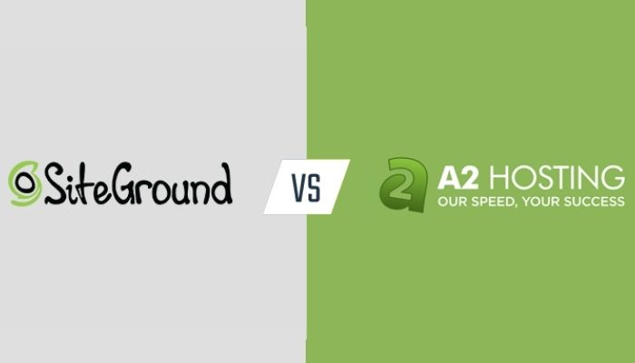A2 Hosting vs SiteGround (2021) – Here's the Winner!