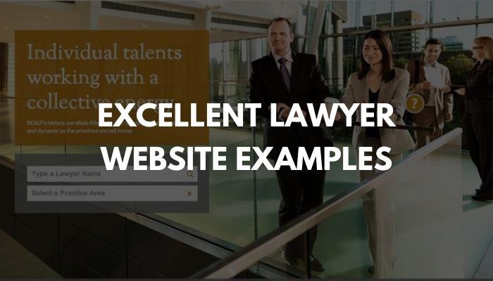 Excellent Lawyer Website Examples in 2021