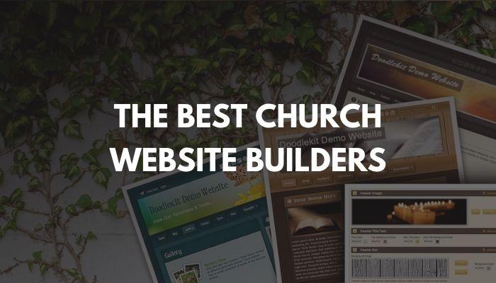 The Best Church Website Builders