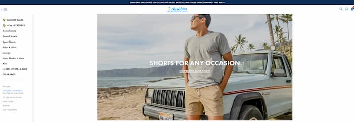 Shopify Site Examples